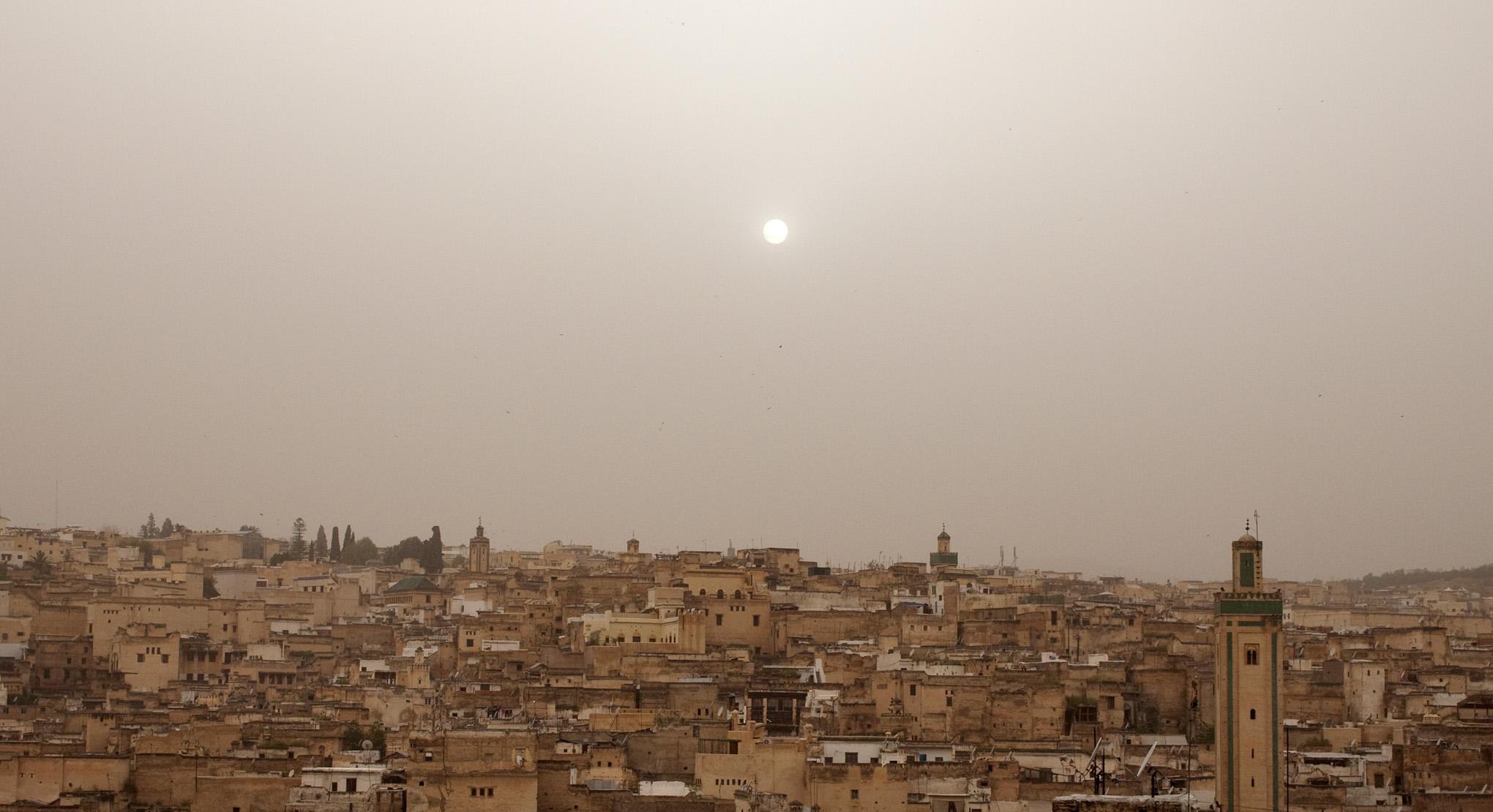 Fez Medina From Dar Balmira's Roof Deck - 2