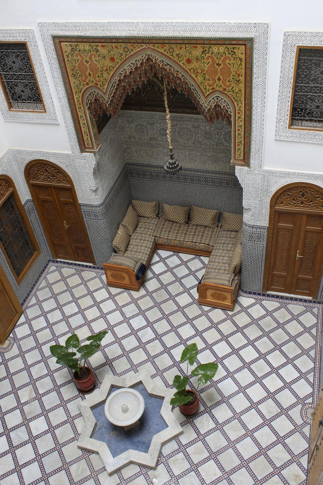 Dar Balmira's Courtyard