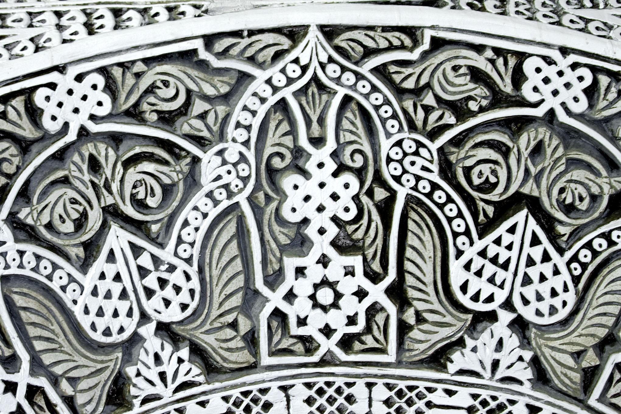 Carved Plaster Detail, Interior