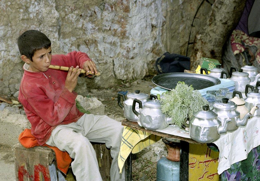 The Flute Player, Sidi Harazem, 2005