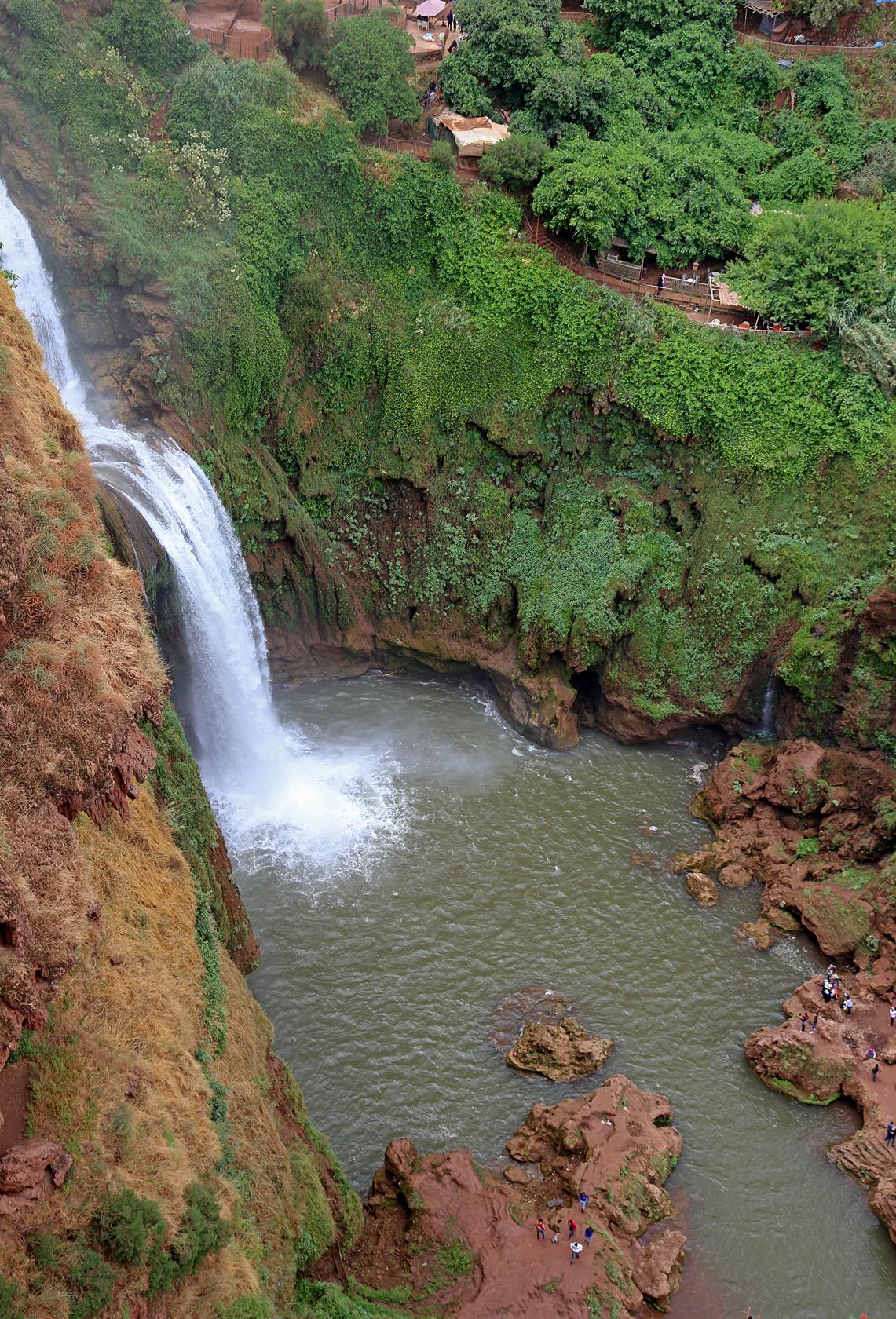 Waterfalls: Cascades Ouzoud - 4 20150524_1916